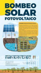 Ilustración sobre Bombeo Solar Fotovoltaico